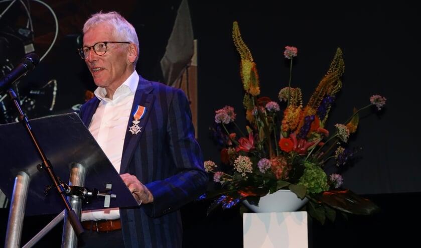 Henk Steen werd onderscheiden.