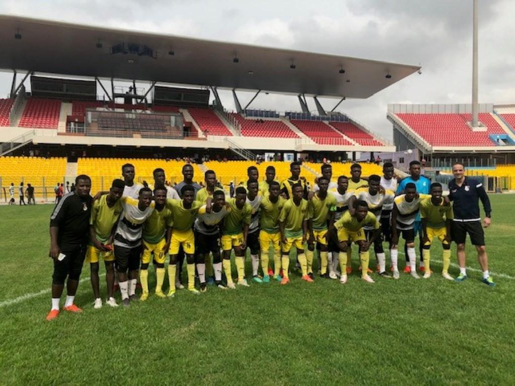 AK Shooting Stars is dé voetbaltalentenschool van Ghana.  © rodi