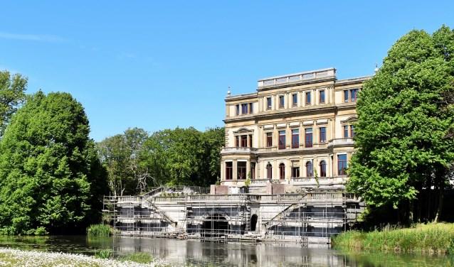 De restauratie van Landhuis Elswout gaat haar eindfase in.