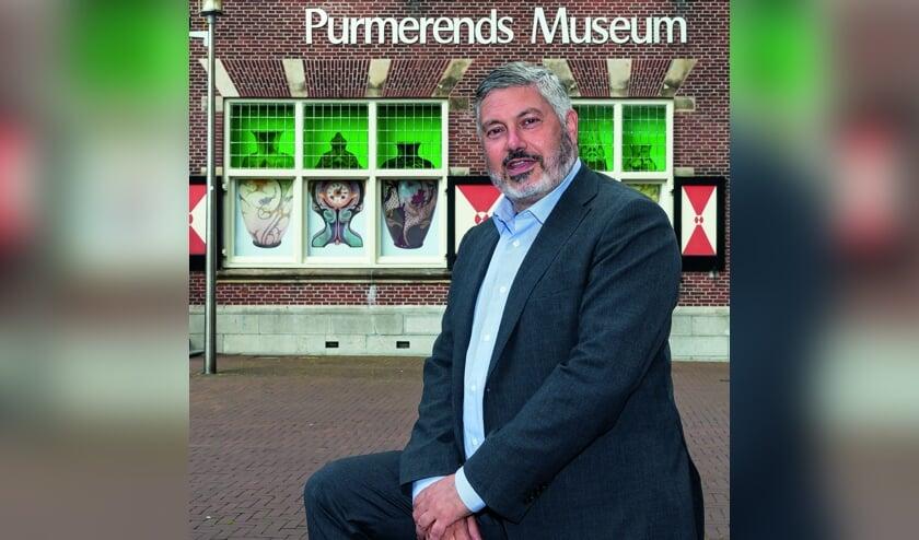Directeur Purmerends Museum, Moncef Beekhof.