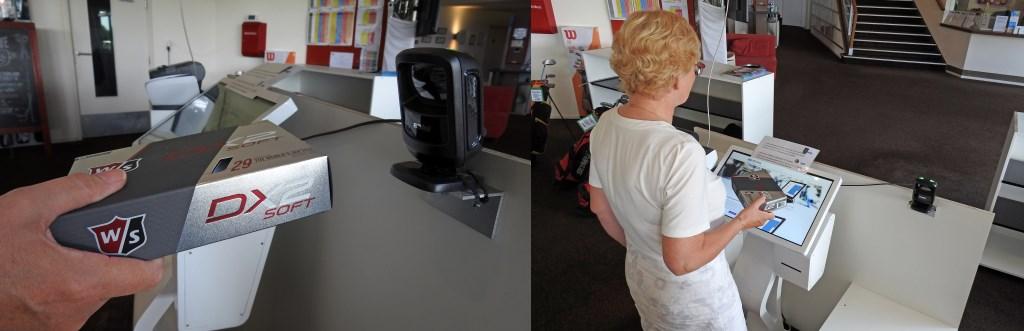 EEn kind kan de was doen: Eerst je aankoop scannen, daarna afrekenen bij de kassa.  © rodi