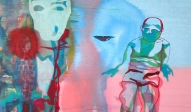 Werk van Gea Zwart, Life and Death