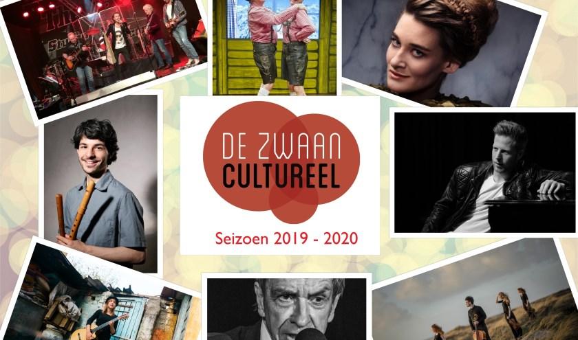 Er valt in het culturele seizoen in Ce Zwaan in Uitgeest genoeg te beleven.