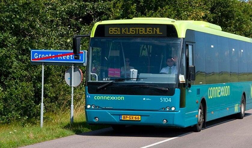 De Kustbus rijdt ook deze zomer weer.