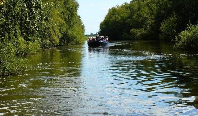 Met de fluisterboot door Ilperveld