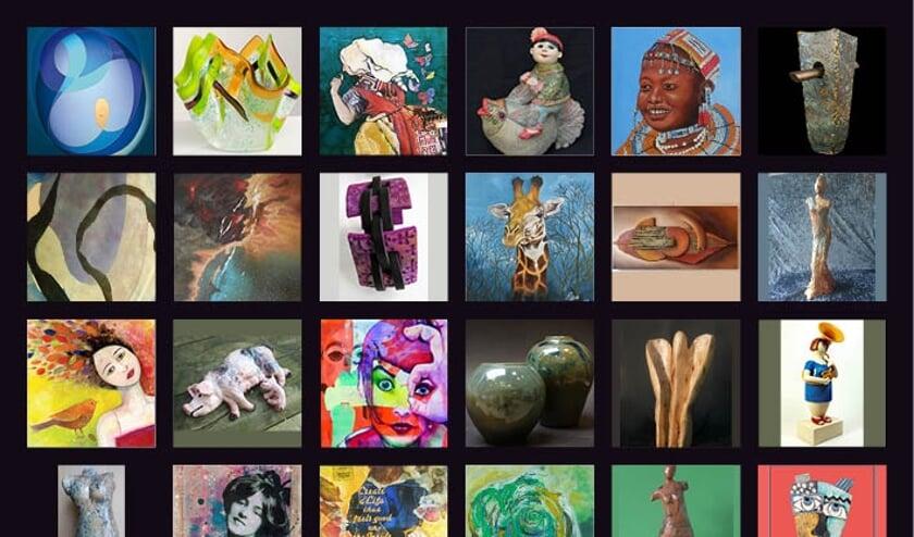 Uiteenlopende kunstvormen komen aan bod tijdens de Kunstmarkt Heerhugowaard.