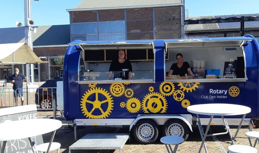 De eigen Foodtruck van Rotary Club Den Helder.