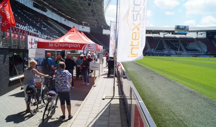 Dag drie stond in het teken van West-Friesland, mét een passage door het AFAS Stadion van AZ.