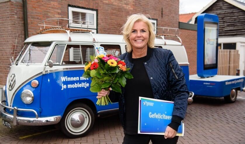 VriendenLoterij-ambassadeur Irene Moor was op bezoek in Schoorl.