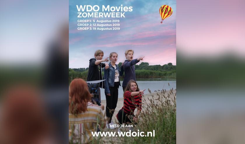 Kinderen maken zelf een film of tv-serie met Workshop De Ontdekkingsreis.