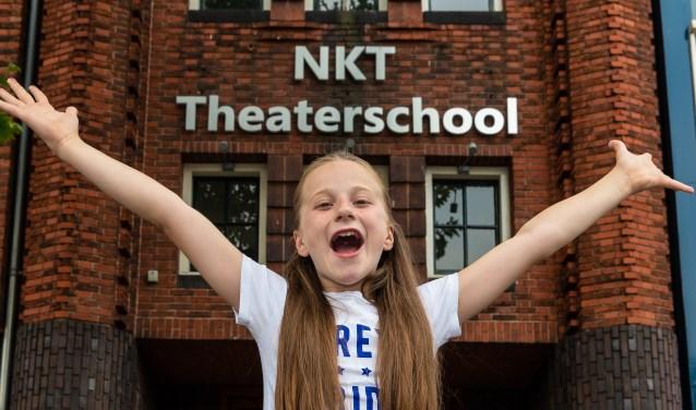 Yentl bij het NKT waar haar passie voor musicals begon