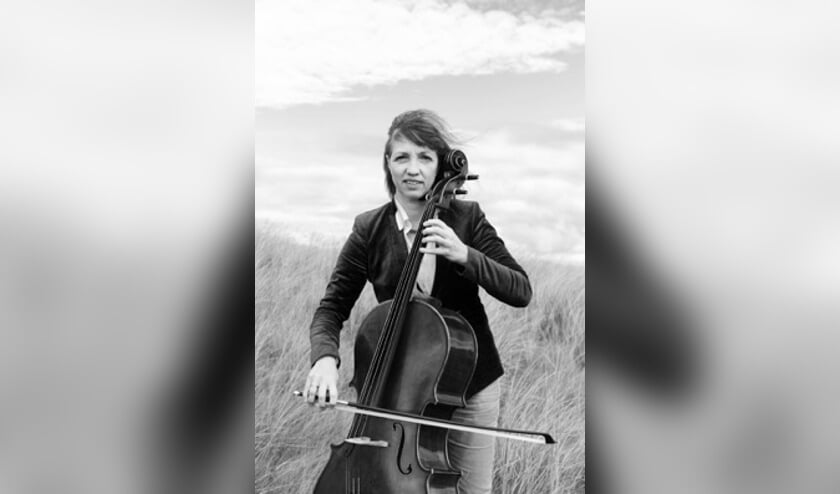 Cellist Jeanny Beerkens.