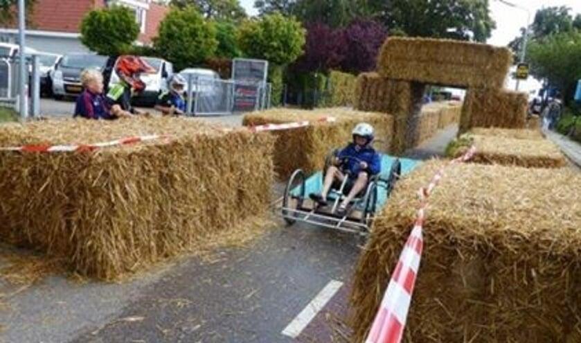 Racen in een zeepkist kan al voor de 15de keer in Burgerveen.
