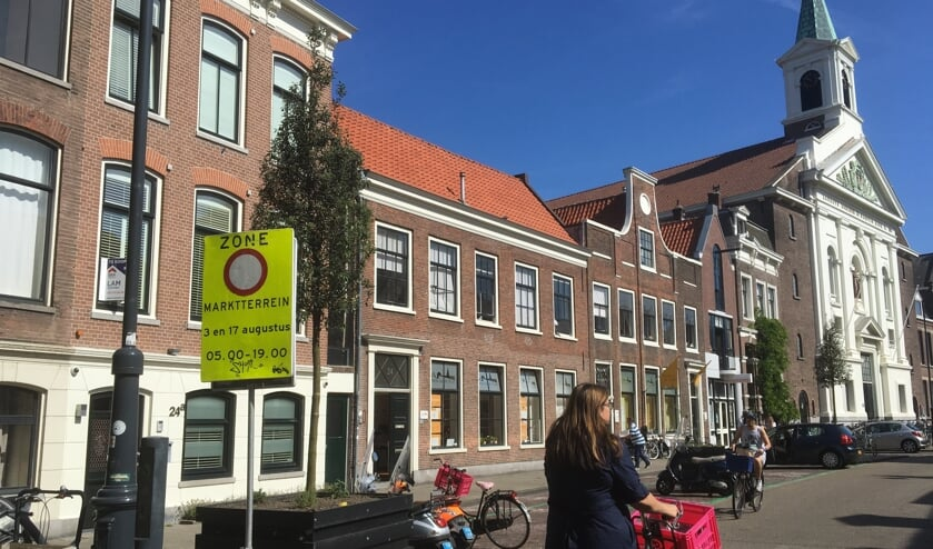 De markt wordt verplaatst voor Haarlem Culinair.