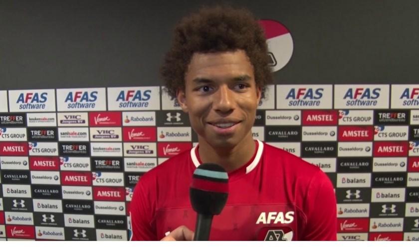 Uitblinker Calvin Stengs: 'Deze wedstrijd in Den Haag voelde als een thuiswedstrijd'.