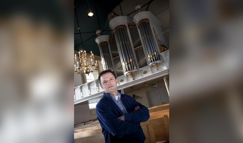 Orgelconcert Andre van Vliet in de NH kerk te Venhuizen.