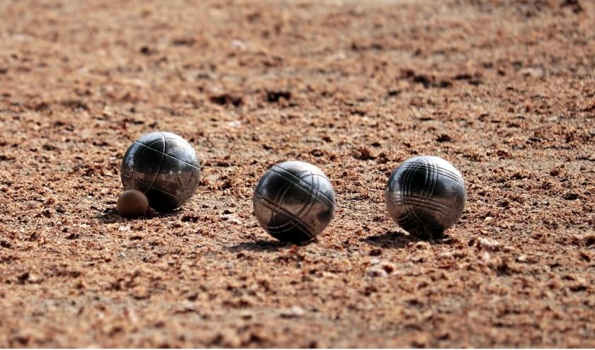 Koersbal is een soort jeu de boules