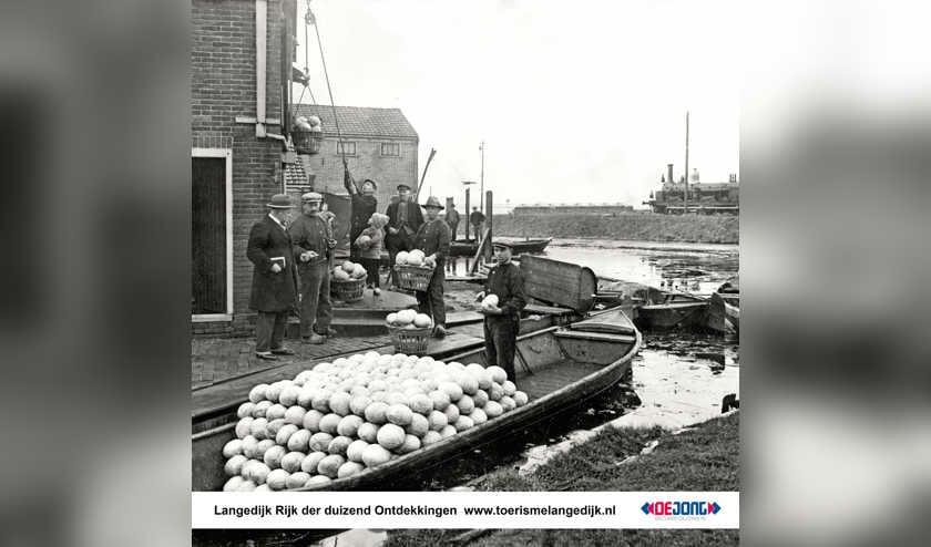 Koolhandel in vroeger tijden.