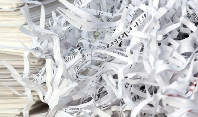 Papieren data is nog steeds onveilig.