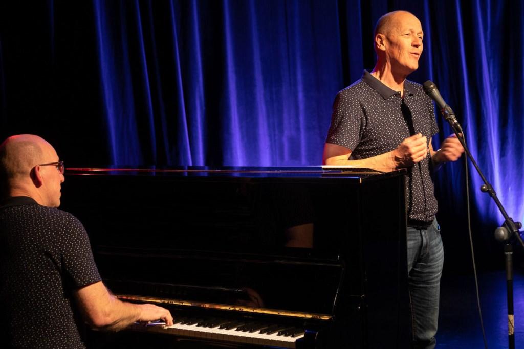 GEeF! geeft een muzikale bijdrage aan de TheaterTrapTour in de gemeente Opmeer. (Foto: Henk Erich) © rodi