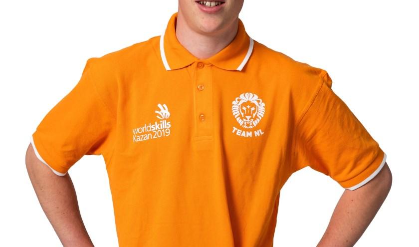 Robin Berkhout uit Andijk vertegenwoordigt Nederland in Rusland.