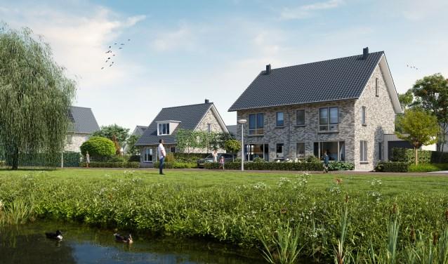 Rietland is een wijk met een groen karakter en veel water.
