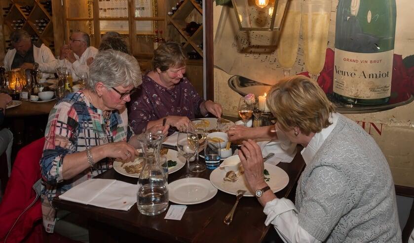 Vorig jaar werd het culinaire evenement voor de eerste keer georganiseerd. Er werd gretig gebruik van gemaakt.