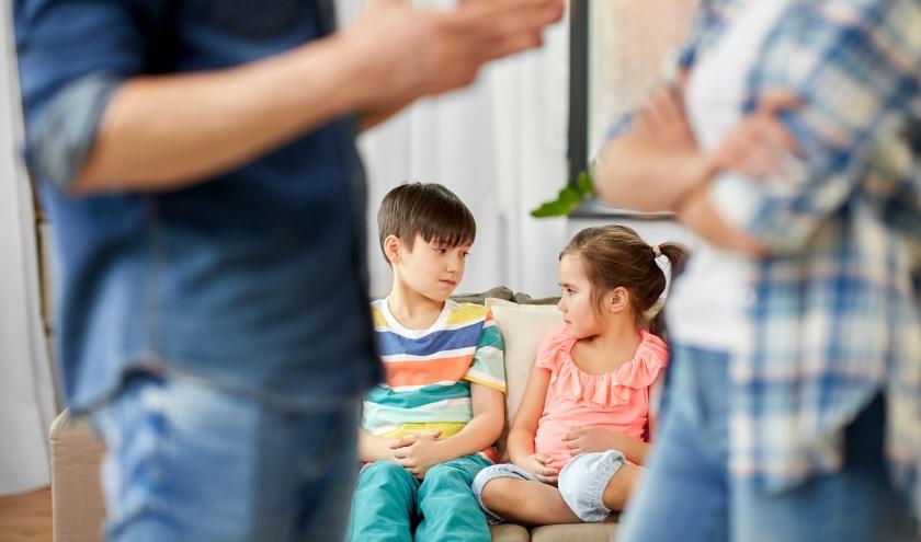 Soms gebeuren er dingen in een gezin waar een kind zich geen raad mee weet, zoals een scheiding.