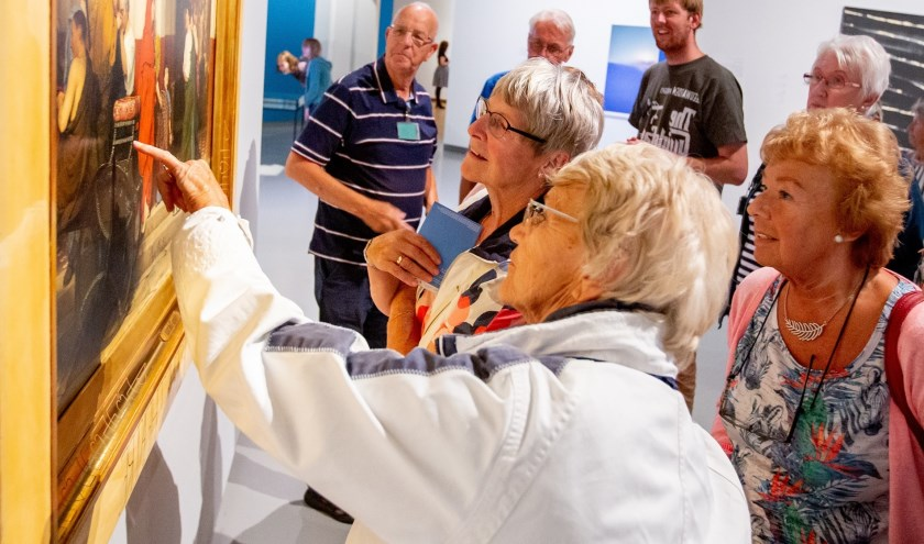 Waardse senioren krijgen onder meer een rondleiding door het Fries Museum.