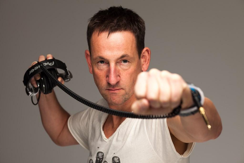 De Duitse dj Dune scoorde in de jaren negentig hits met 'Hardcore Vibes', 'I Can't Stop Raving' en 'Rainbow to the Stars'. (Foto: Persfoto) © rodi