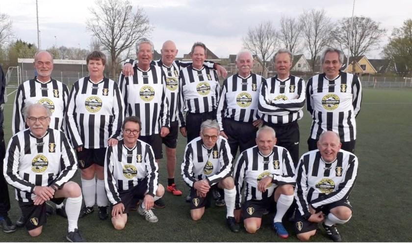 Het Walking Football team.