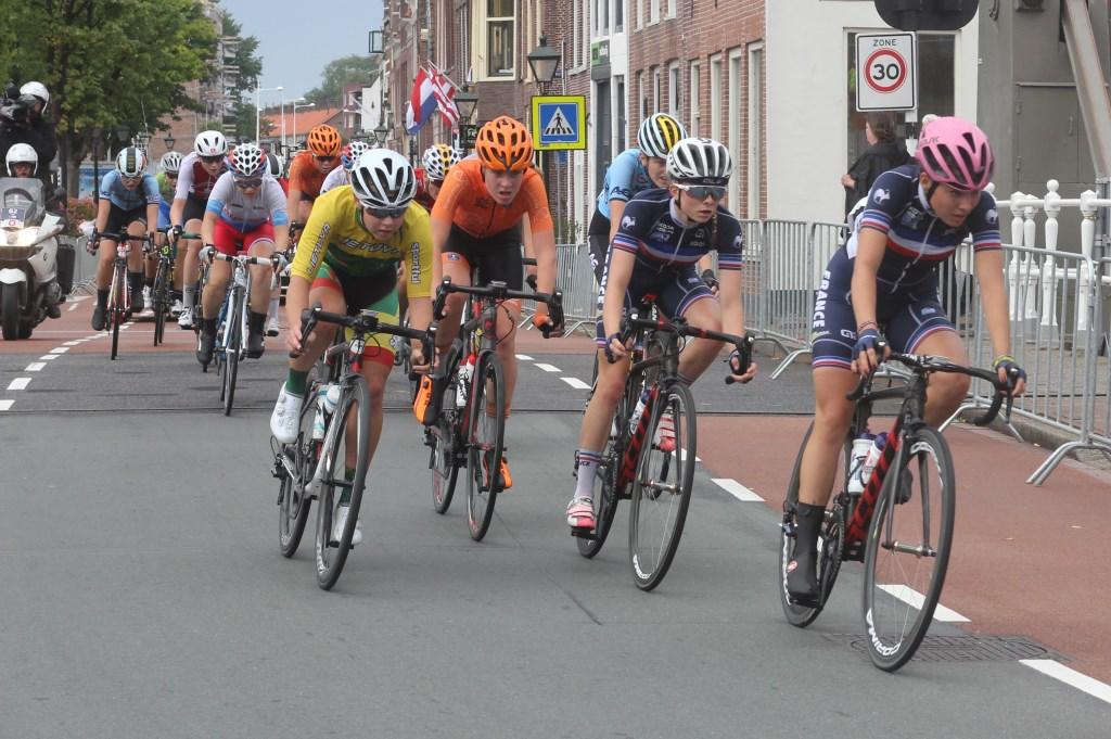 Junior vrouwen in actie in Alkmaar. (Foto: Frits van Eck) © rodi