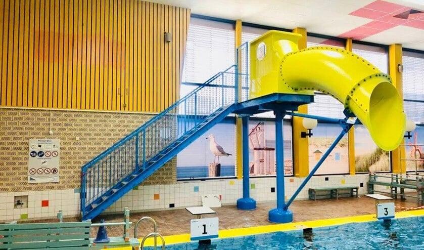 De Pelican Dive: knalgeel glijspektakel in zwembad De Hoornse Vaart. Wanneer deze geopend wordt is nog niet bekend.