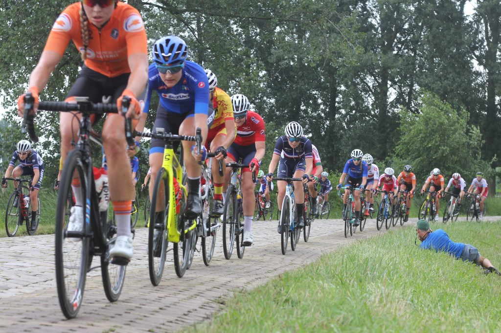 De Munnikenweg bleek minder lastig dan vooraf werd gedacht.  (Foto: Frits van Eck) © rodi