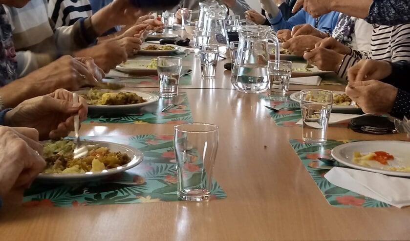 Samen Eten in Westervenne.