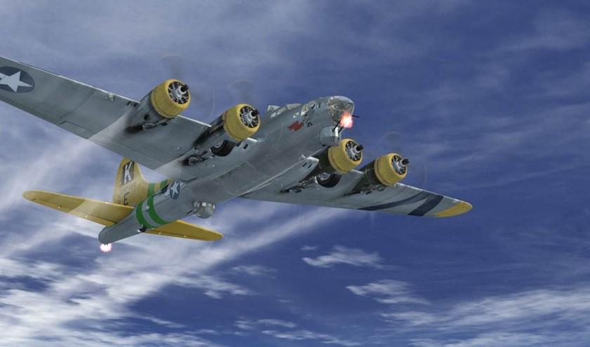 Eén van de 'te vliegen' vliegtuigen.