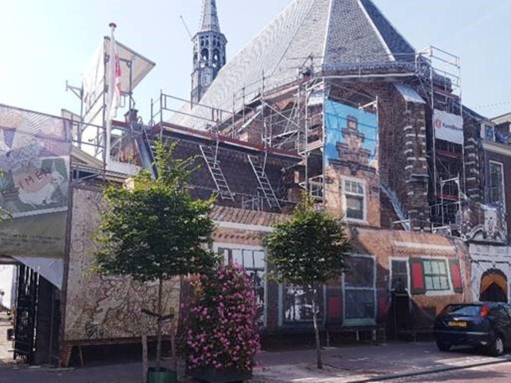 De Janskerk blijft langer dicht.  © rodi