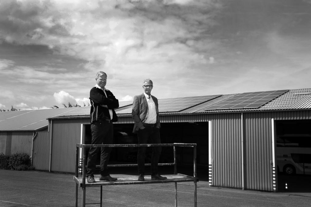 Ondernemers in het West-Friese Zuiderkogge investeren gezamenlijk in duurzame energie.  © rodi