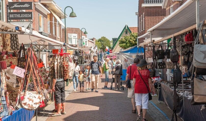 Bezoek de laatste zomermarkt van dit jaar in Medemblik.