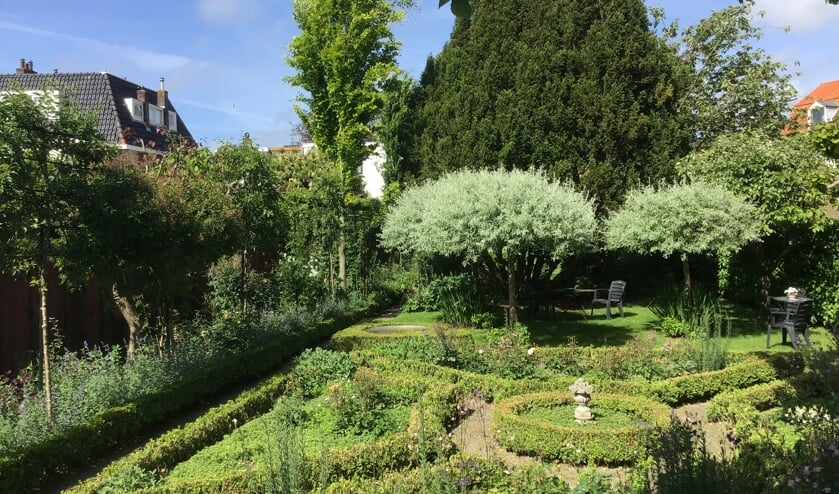 De tuin aan het Varnebroek, te bezichtigen op Open Monumentendag.