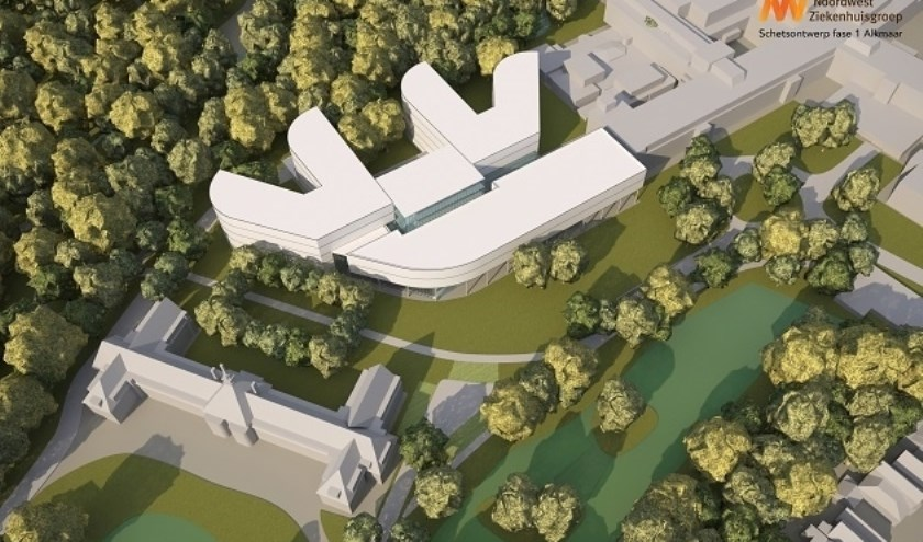 Noordwest vraagt vergunningen aan voor nieuwbouw in Alkmaar.