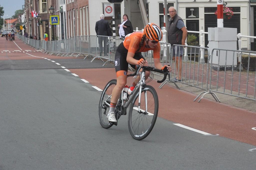 Vrouwen junior Ilse Pluimers in actie in Alkmaar. (Foto: Frits van Eck) © rodi