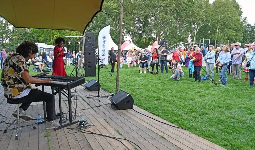 Naast cultuur ook muziek bij Schalkwijk aan Zee.