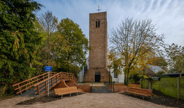 Een van de monumenten die zijn deuren open zet op zaterdag 14 september, is de Allemanskerk in Oudkarspel.