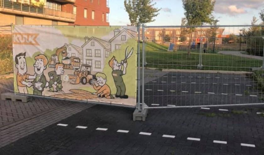 Op deze locatie in Broekpolder komt Speelplaats Het Pronkstuk.