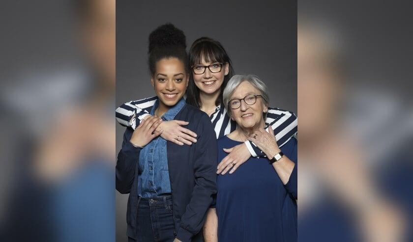 Overijssel: Lisa, Conny, Jeanne, 2019.