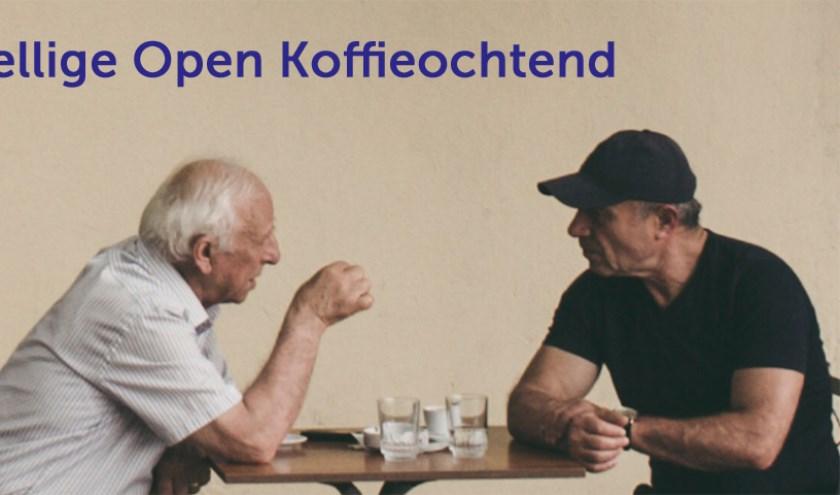 Een goed gesprek onder het genot van een kopje koffie.