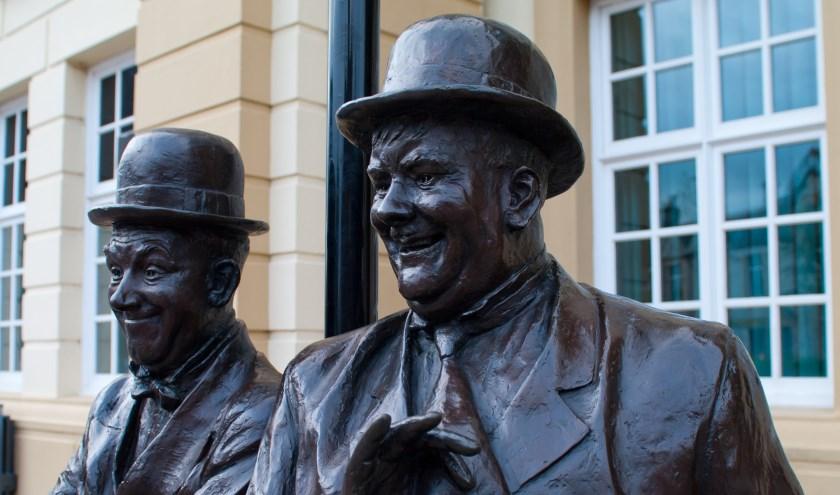 Laurel en Hardy.