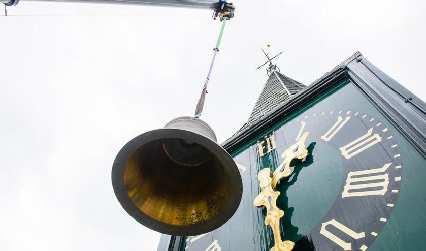 Het carillon telt 43 klokken