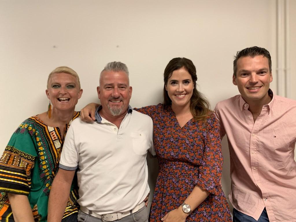 Chantel Veer, Frans van Straaten, Judith Leegwater en Dennis ten Bruggencate doen mee aan Maestro Langedijk 2019.